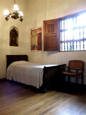 Habitación de Fernando González en la Casa Museo Otraparte - Foto por Efraín Zapata para El Informador de Comfama