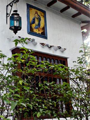 Imagen de la Virgen en la Casa Museo Otraparte