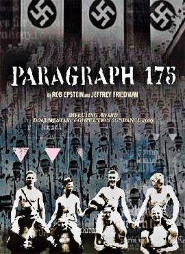 Parágrafo 175 - Rob Epstein / Jeffrey Friedman