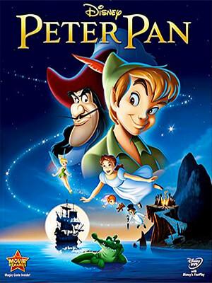 Peter Pan - Clyde Geronimi, Hamilton Luske, Wilfred Jackson