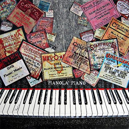 """Player Piano Blues"" porRichard Roselli"