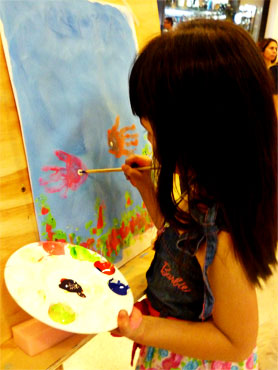 Pintura en caballete al aire libre