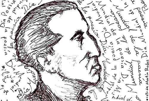 Porfirio Barba Jacob - Ilustración © Martín Rodas