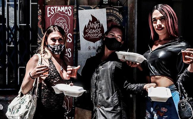Foto de una actividad de La Parcería