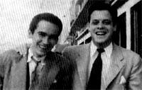 Gonzalo Arango y Alberto Aguirre