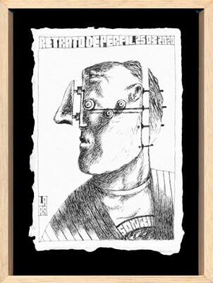 Retrato del libro «Retratos aislados» de Saúl Álvarez Lara