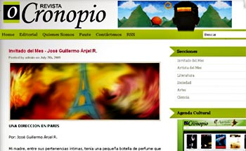 Revista Cronopio / www.revistacronopio.com