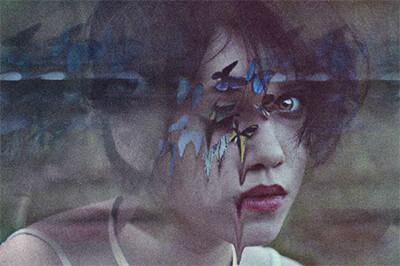 """""""Revista Innombrable - Pesadillas: espejos del sueño"""" - Fotoarte © Katherine Espinosa"""