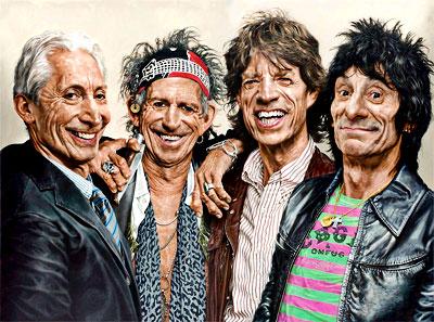 The Rolling Stones por Sebastian Krüger