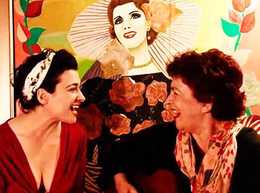 María José Mejía y su madre Dora Luz Echeverría
