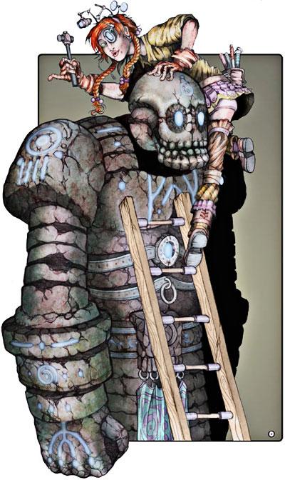 Ilustración de Sergio Villa