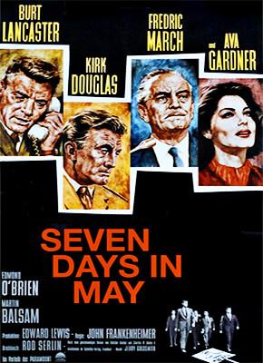 Siete días de mayo - John Frankenheimer