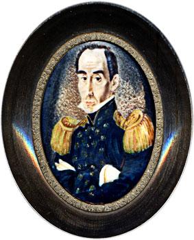 Simón Bolívar - Retrato por José María Espinosa