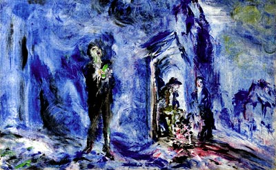"""He Sings to the Night"" - Jack Butler Yeats (1871-1957)"