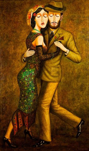 """Tango"" por Zviad Gogolauri"