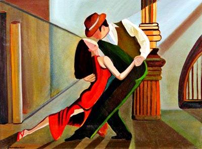 """""""Tango al amanecer"""" por Antonio Giardinieri"""