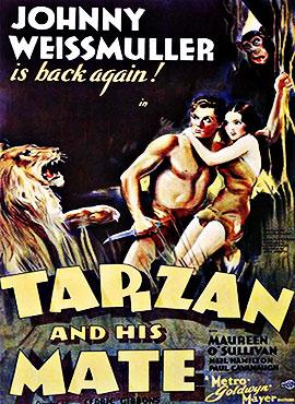 Tarzán y su compañera - Cedric Gibbons