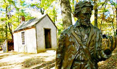 Cabaña de Thoreau en Talkingtree.com