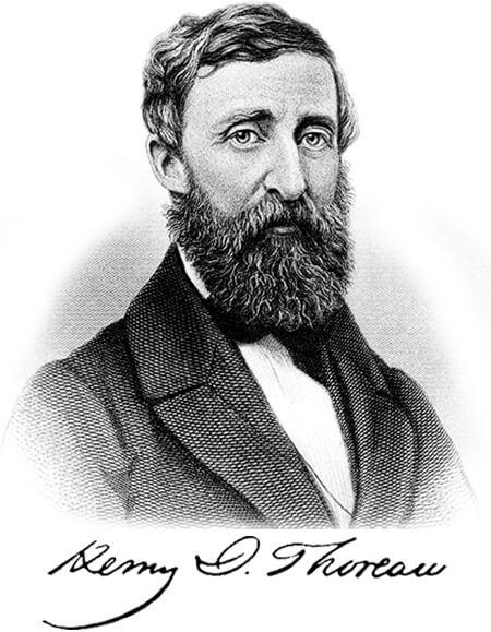 Henry David Thoreau (1817 - 1862)