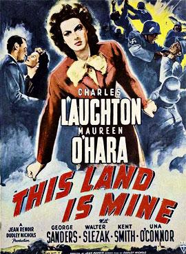 Esta tierra es mía - Jean Renoir