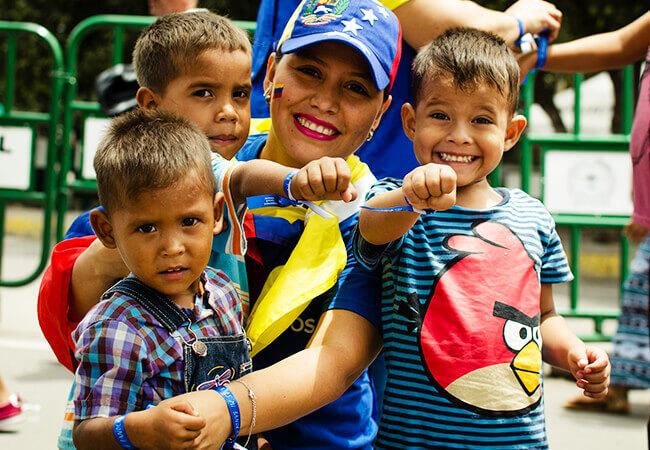 Foto de la Toma Cultural y Artística por la Integración en América Latina