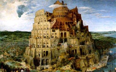 """""""Torre de Babel"""" de Pieter Brueghel (1525 - 1569)"""