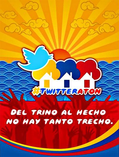Twitteratón - Del trino al hecho no hay tanto trecho