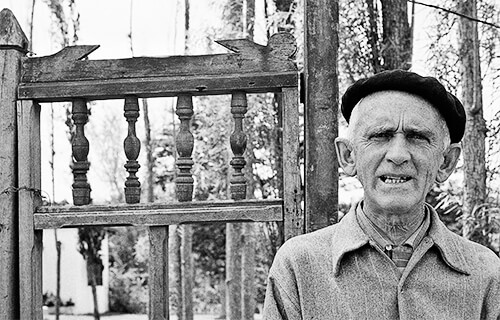 Fernando González - Fotografía © Guillermo Angulo (1959)