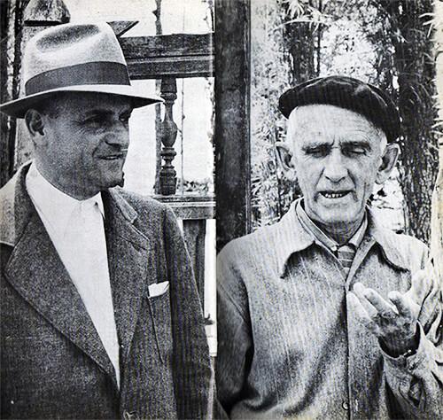 Félix Ángel Vallejo y Fernando González