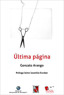 """""""Última página"""" de Gonzalo Arango"""""""