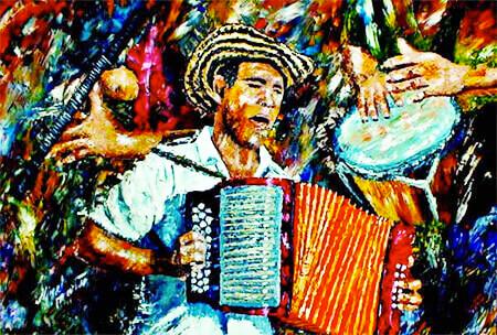 Historia del vallenato colombiano