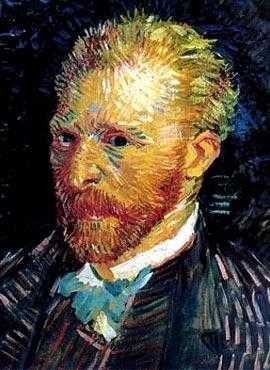 Vincent van Gogh - Autorretrato - 1887
