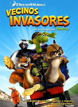 Vecinos invasores - Tim Jonson / Karey Kirkpatrick
