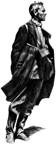 Fernando González - Ilustración por Daniel Gómez Henao