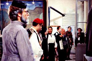 El viaje de los comediantes - Theo Angelopoulos