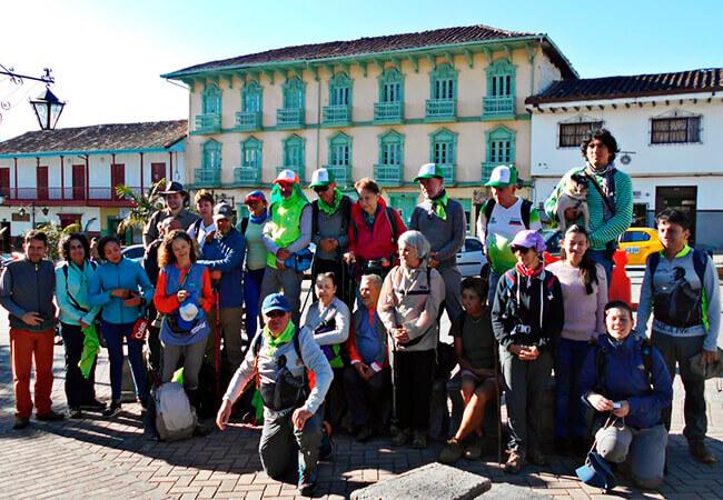 Participantes del proyecto «Lectura del Viaje a pie desde el camino»