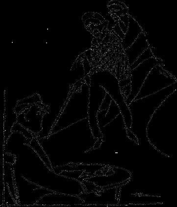 """""""Viajes de un novicio con Lucas de Ochoa"""" - Por Félix Ángel Vallejo - Ilustración © Horacio Longas"""