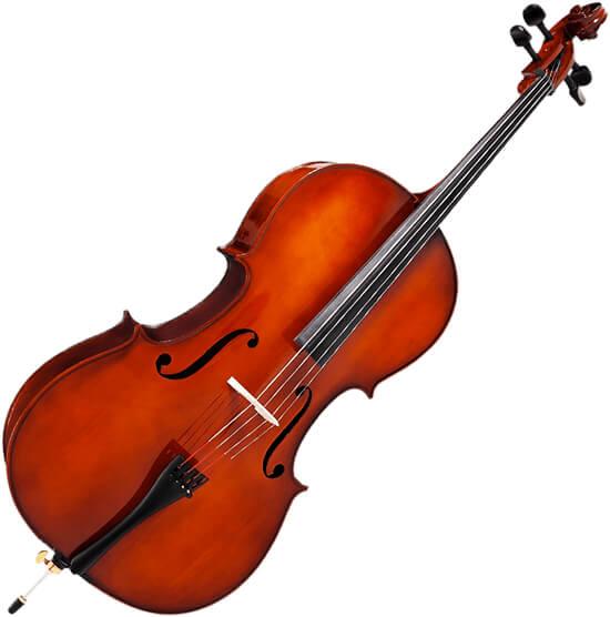 Foto de un violonchelo