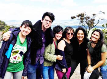 Asistentes a los talleres de Cota y Chía visitaron el cerro sagrado del Majuy