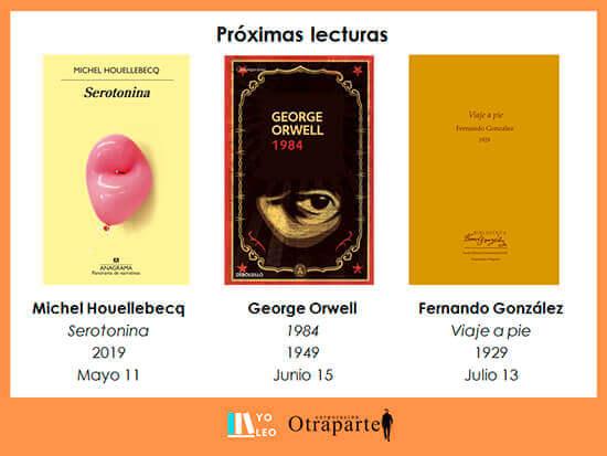 Próximas lecturas del Grupo de Lectura «Yo leo» - Mayo - Junio - Julio de 2021