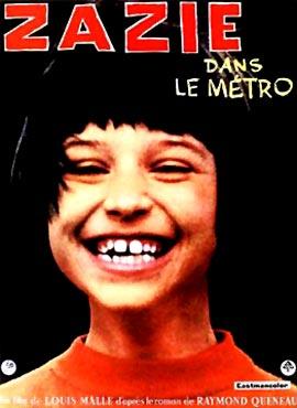 Zazie en el metro - Louis Malle